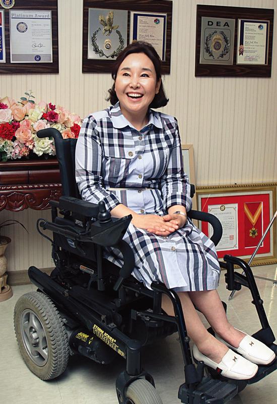 허혜숙 회장 소개사진